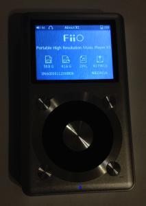 Fiio X1 – nowe firmwawe (1.6)