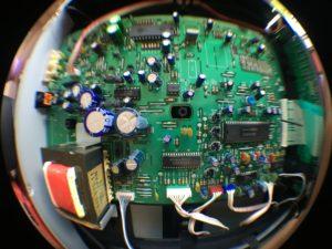 Sony CDP-750 - wnętrze