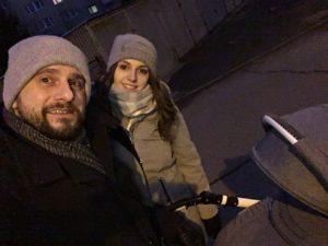 zimowy spacer po Szwederowie